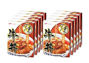 金のどんぶりお手軽満足牛丼 140g×10箱