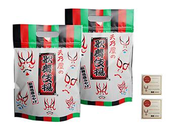 歌舞伎揚げ(6袋)+ミニ付箋<東京ご当地プレゼント>