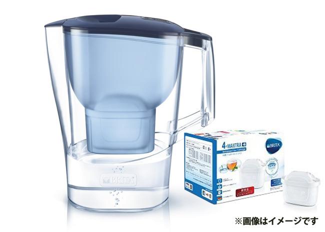 BRITAポット型浄水器 2Lサイズ(カートリッジ付き)【毎プレ】