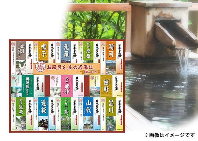 入浴剤「日本の名湯」詰め合わせ(計50袋)【毎プレ】