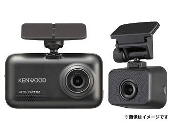 KENWOOD 2カメラドライブレコーダー
