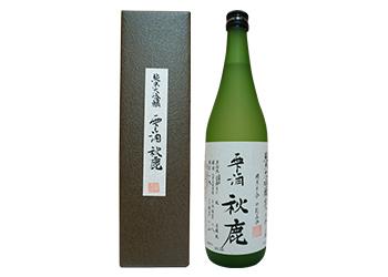 純米大吟醸 雫酒「秋鹿」 720ml<大阪ご当地プレゼント>