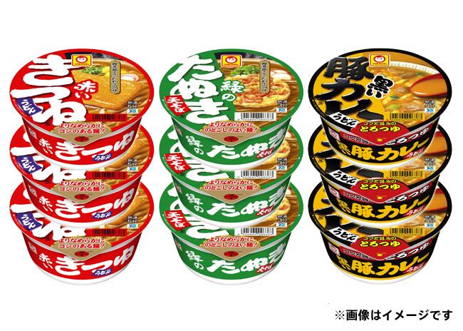 マルちゃん カップ麺セット(3ケース)【毎プレ】