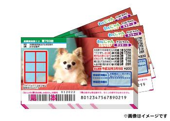 \1等500万円/わんにゃんスクラッチ ラッキー3 100枚