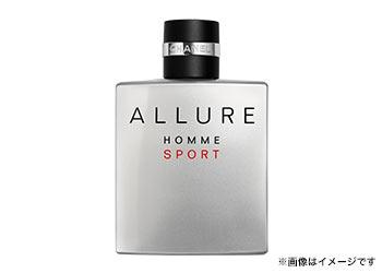 爽やかな香りで男を磨く「アリュール オム スポーツ」