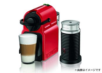 ネスプレッソ コーヒーメーカー イニッシア エアロチーノセット