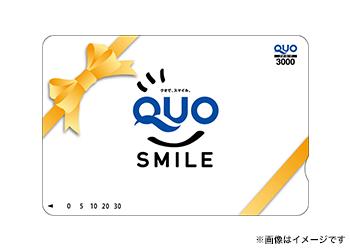 Quoカード3000円分