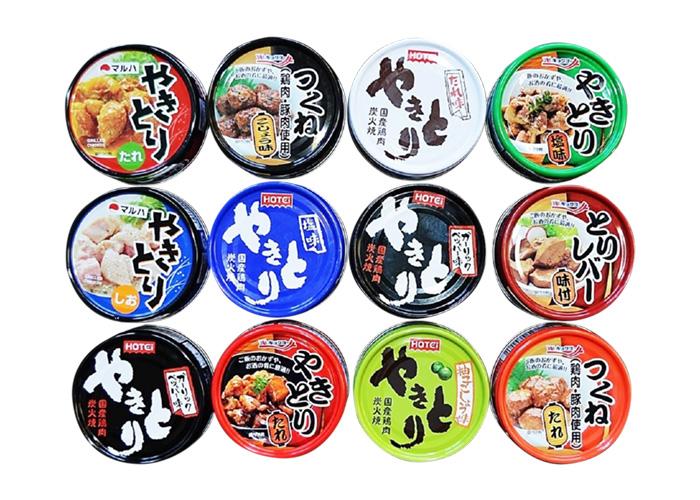 食べくらべ焼き鳥缶セット(12缶)