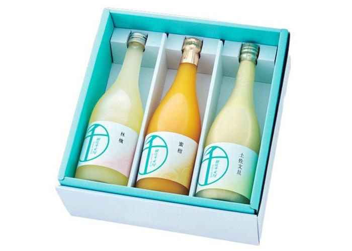 銀座千疋屋 オリジナル果汁ジュース3本セット