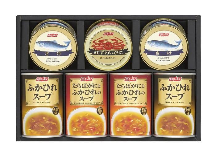 ニッスイ 水産缶&ふかひれスープ缶セット