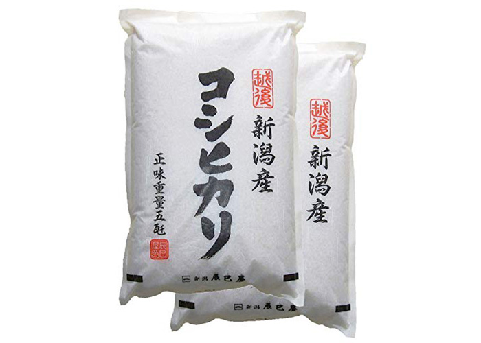 新潟県産コシヒカリ(5㎏×2袋)
