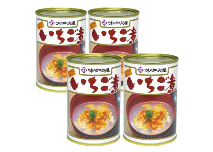 味の加久の屋 いちご煮(4缶セット)