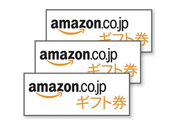 当選確率50%!Amazonギフト券500円分