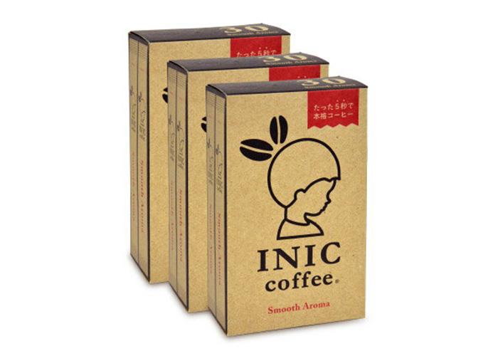 INIC COFFEE スムース アロマ スティック 4g×30本×3箱