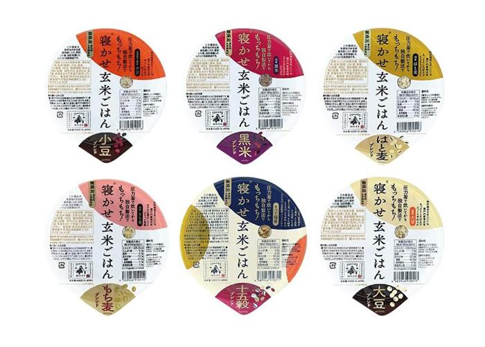 寝かせ玄米ごはん レトルトパック(6種×各2食)