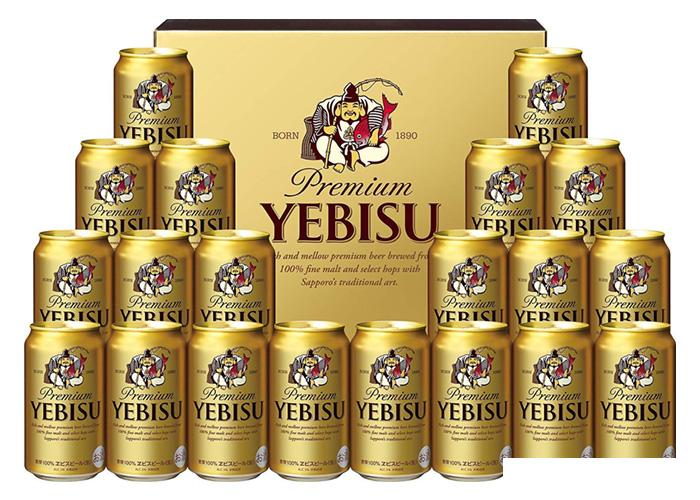 ヱビスビール缶セット(350ml×20本)