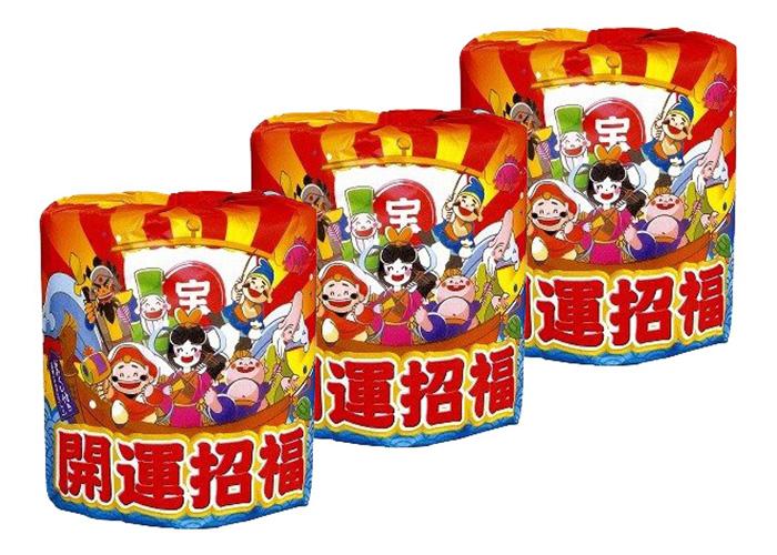 開運招福トイレットペーパー(100ロール)