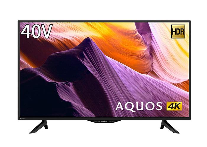 シャープ 40V型 4K チューナー内蔵 液晶 テレビ AQUOS HDR対応 4T-C40BH1