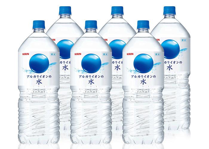 キリン アルカリイオンの水 (2L×6本)2箱セット
