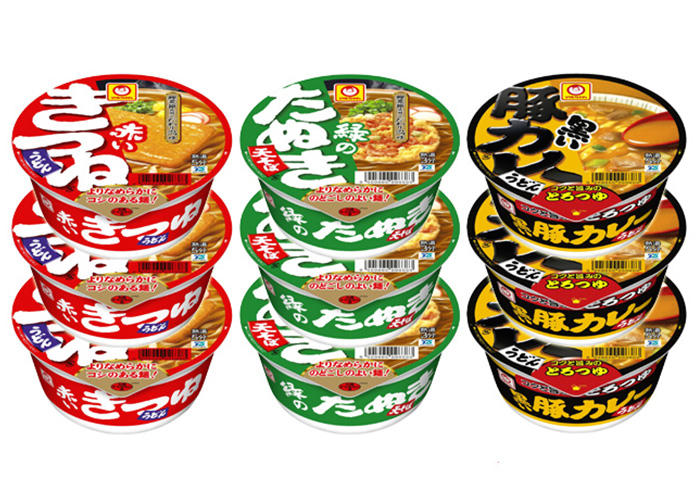 マルちゃん カップ麺セット(3ケース)