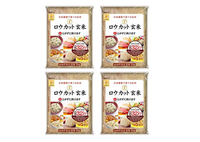 金芽ロウカット玄米(2kg×4袋)