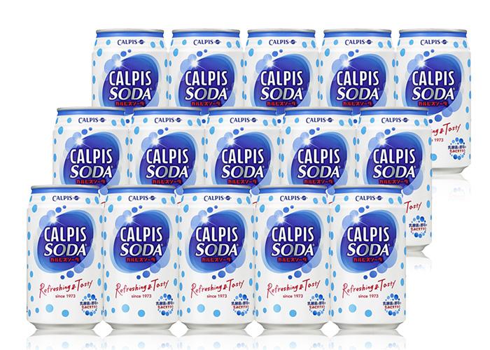 カルピスソーダ(350ml缶×48本)