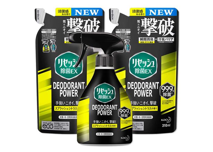 リセッシュ除菌EX プラス デオドラントパワー(本体+詰め替え2袋)