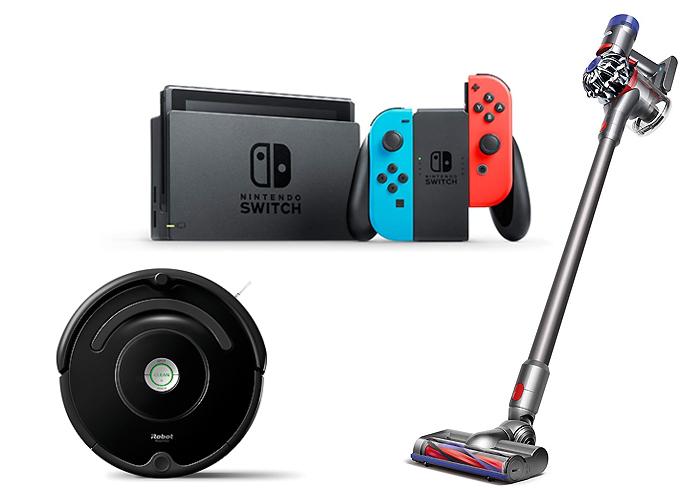 ダイソン・Nintendo Switchなど人気家電 他