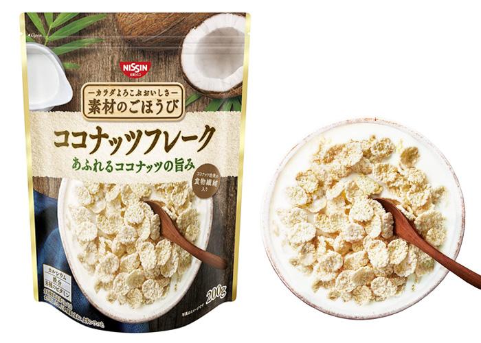 日清シスコ 素材のごほうび ココナッツフレーク 200g ×6袋