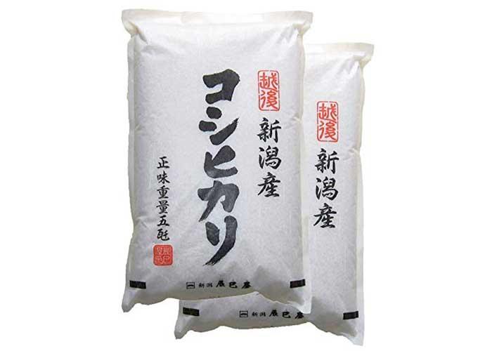 新潟県産コシヒカリ(5kg×2袋)