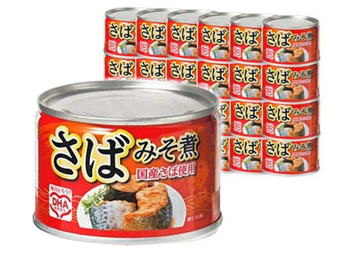 マルハニチロ さばみそ煮24缶セット