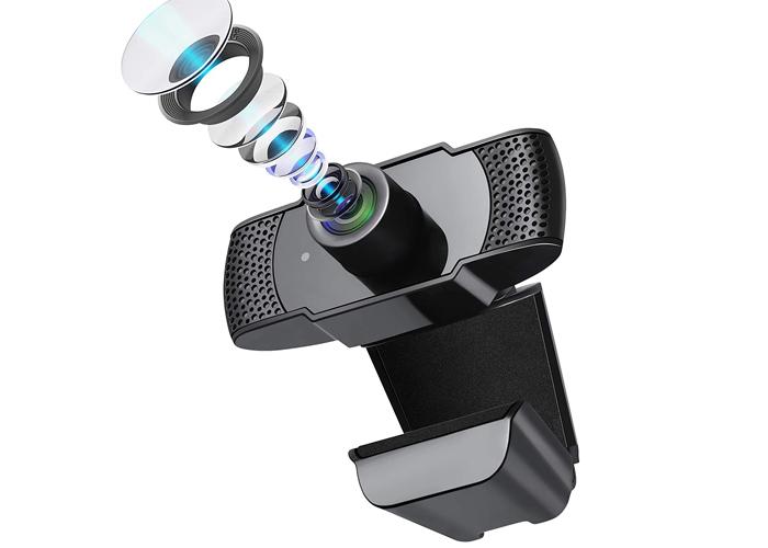 [2020最新デザイン]Sross ウェブカメラ フルHD