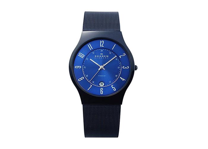 SKAGEN ウルトラスリム チタン 腕時計