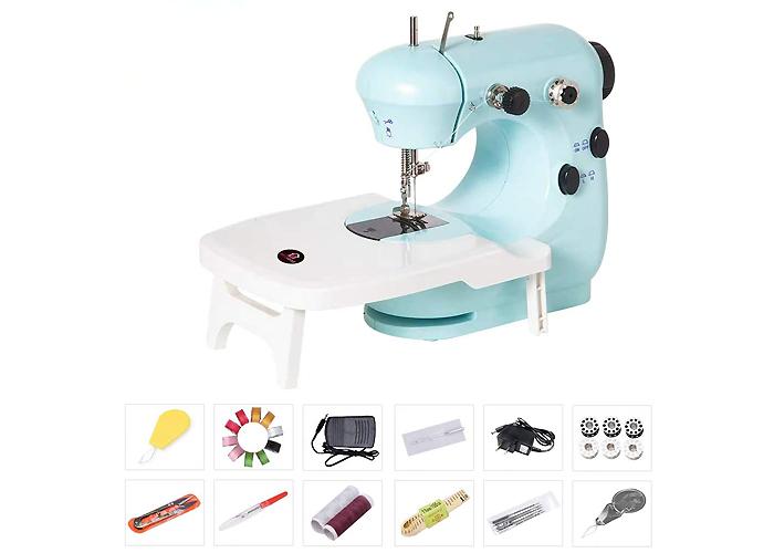 電動コンパクトミシン 裁縫セット付き