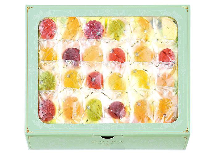 西洋菓子鹿鳴館 フルーツゼリー 恵みのしずく 70個入