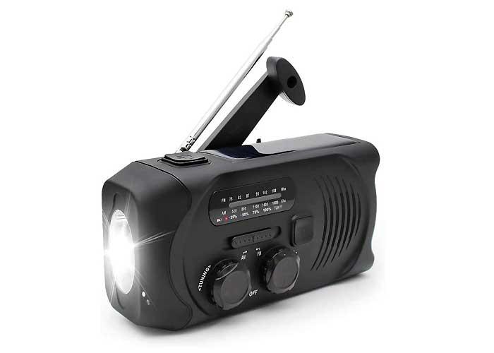 Kanavi 防災ラジオライト スマホ充電対応可能