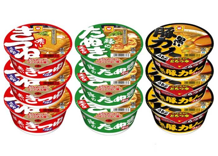 【メール限定プレゼント】マルちゃん カップ麺セット(3ケース)