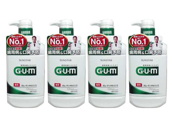 GUM デンタルリンス ( 960mL×4本)