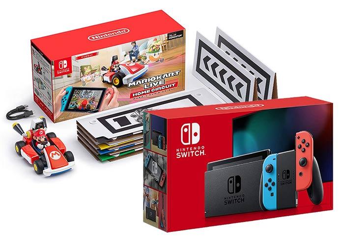 Nintendo Switch 本体+マリオカート ライブ ホームサーキット マリオセット