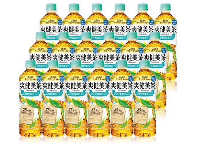 爽健美茶(600ml×48本)