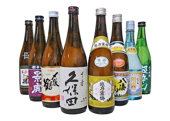 新潟の希少地酒 飲み比べ 8本セット