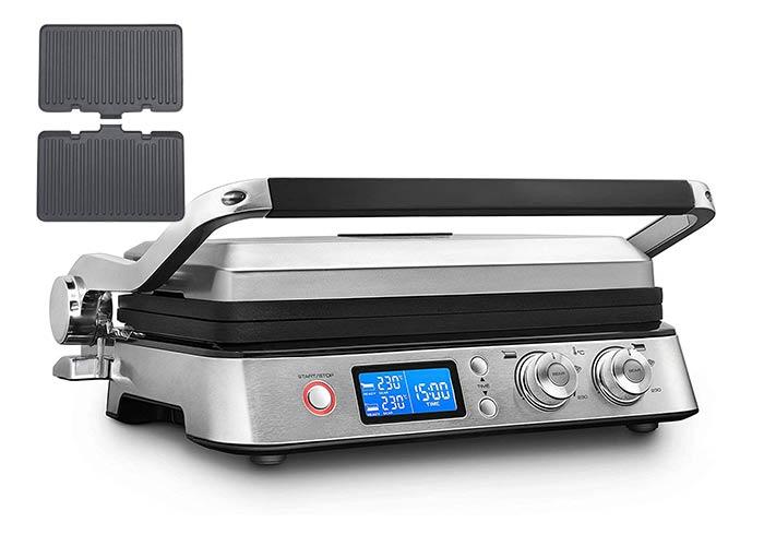 デロンギ  マルチグリル BBQ & コンタクトグリルプレート CGH1011DJ(波型プレート付き)