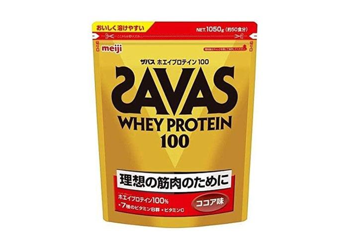 ザバス ホエイプロテイン 100 ココア味 1050g(50食分)