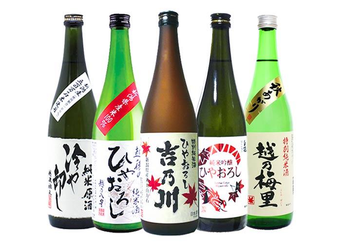 日本酒 ひやおろし 秋あがり 飲み比べ 720ml 5本セット
