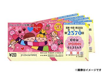 バレンタイン女神くじ 100枚