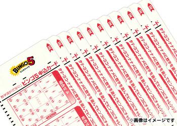 BINGO5 100口 <スペシャルプレゼント>