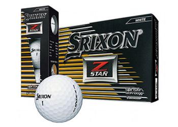 ゴルフボール「NEW スリクソン Z-STAR」