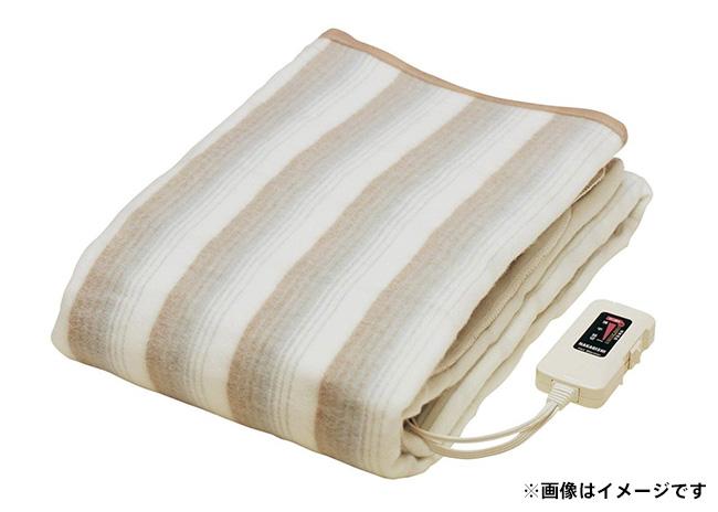 電気掛敷兼用毛布【毎プレ】