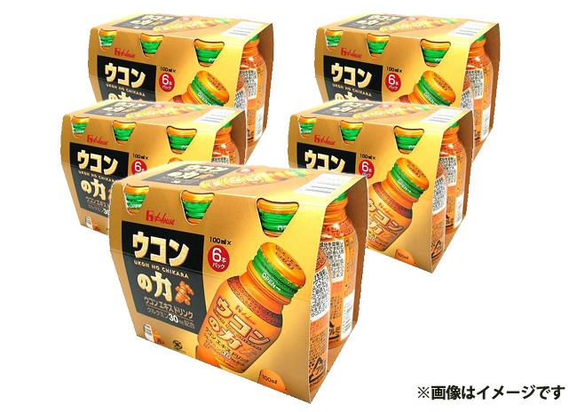 ウコンの力 ウコンエキスドリンク(6本入×5箱)【毎プレ】