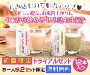 累計840万本突破!【しみ込む豆乳飲料】トライアルセット<送料無料>